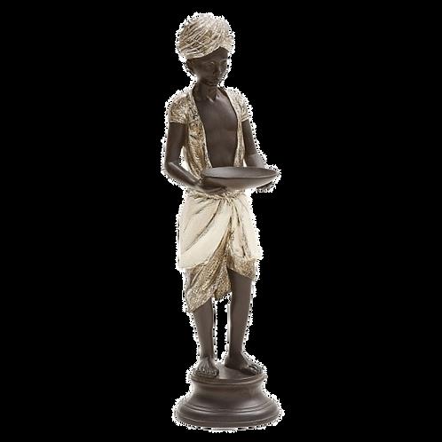 Figura de resina decorativa - Black-a-moor