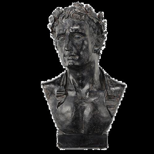 Escultura decorativa Busto Atticus