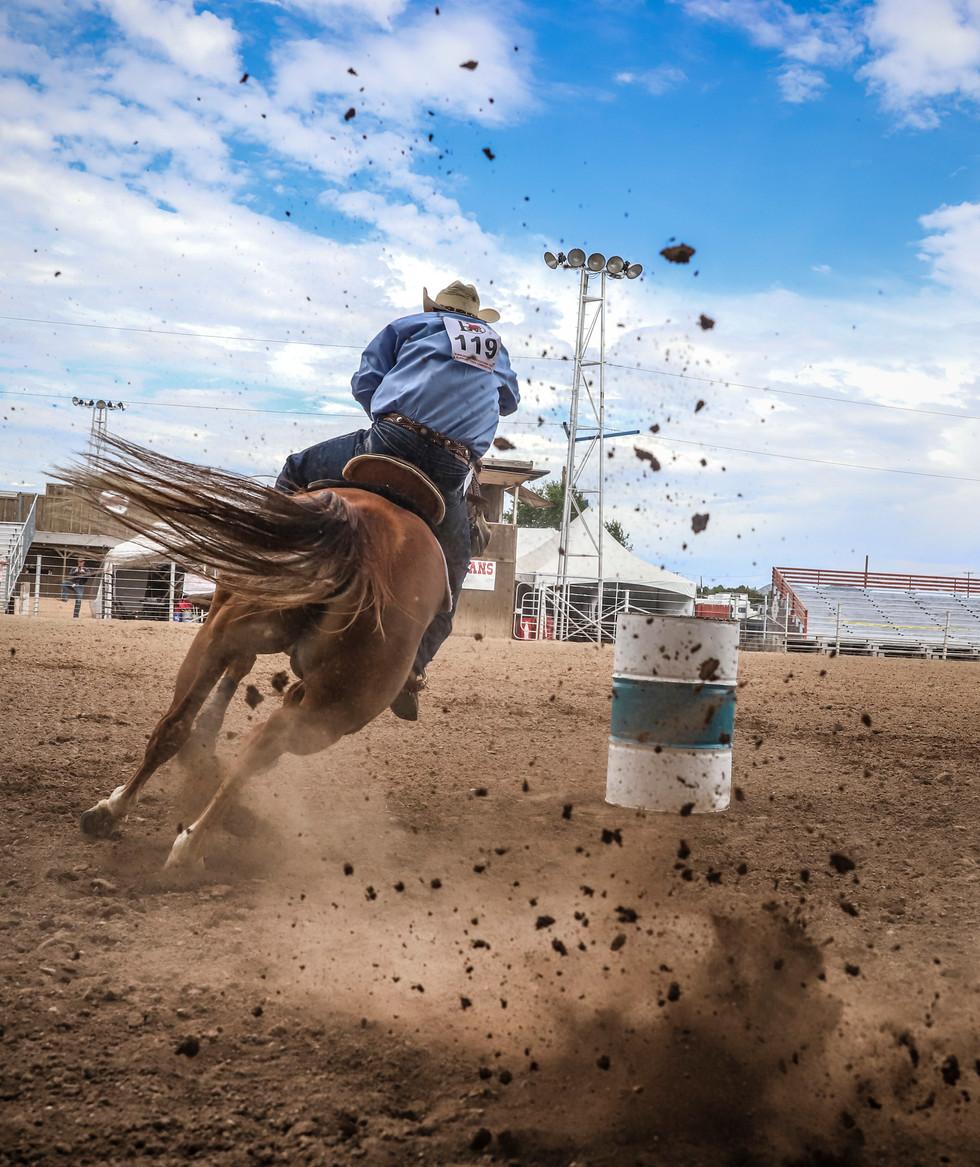 Santa Fe Gay Rodeo Contestant