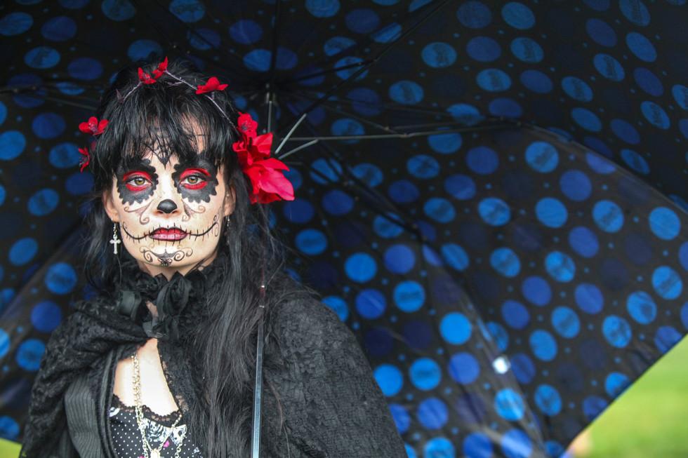 Dia de Los Muertos. Albuquerque 2015.