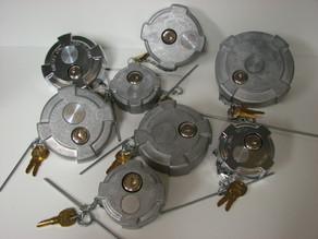 Locking Diesel Fuel Caps