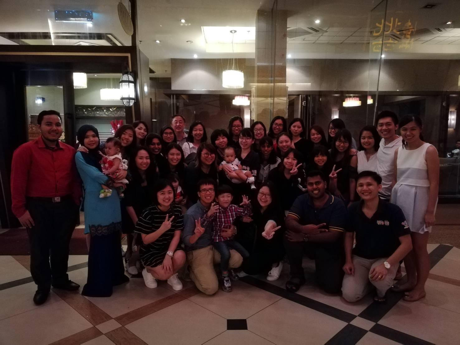 2017 Annual dinner group photo