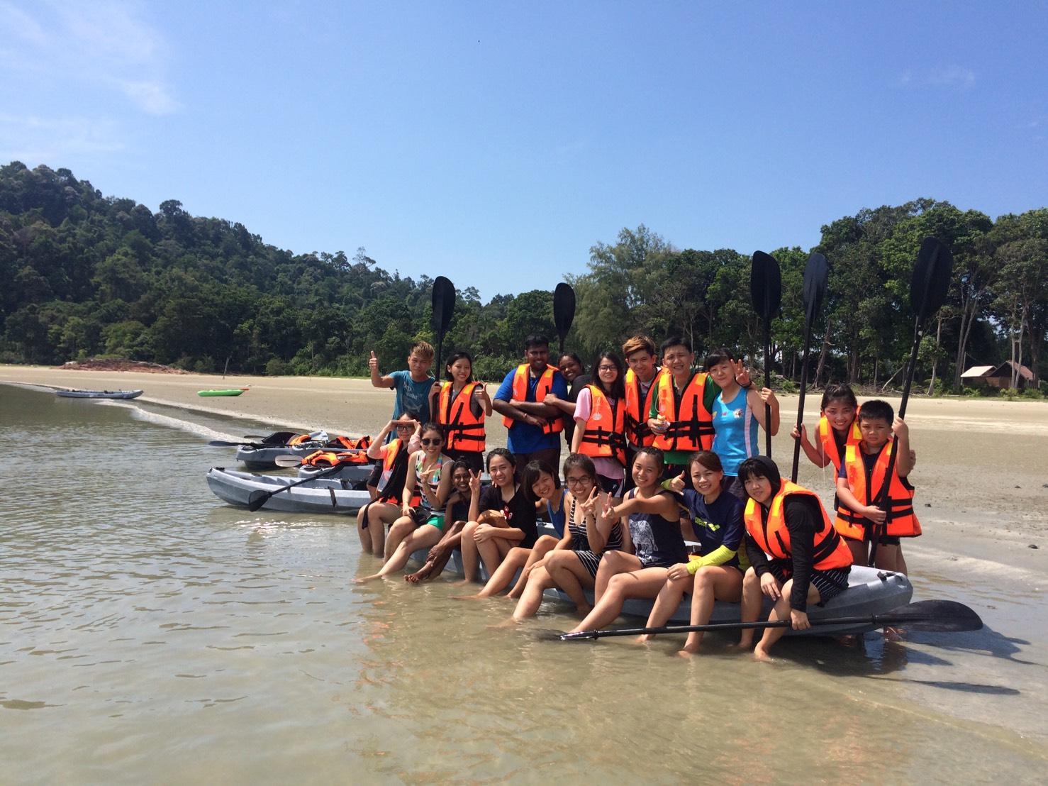 2017员工旅游Mersing Sukalayar