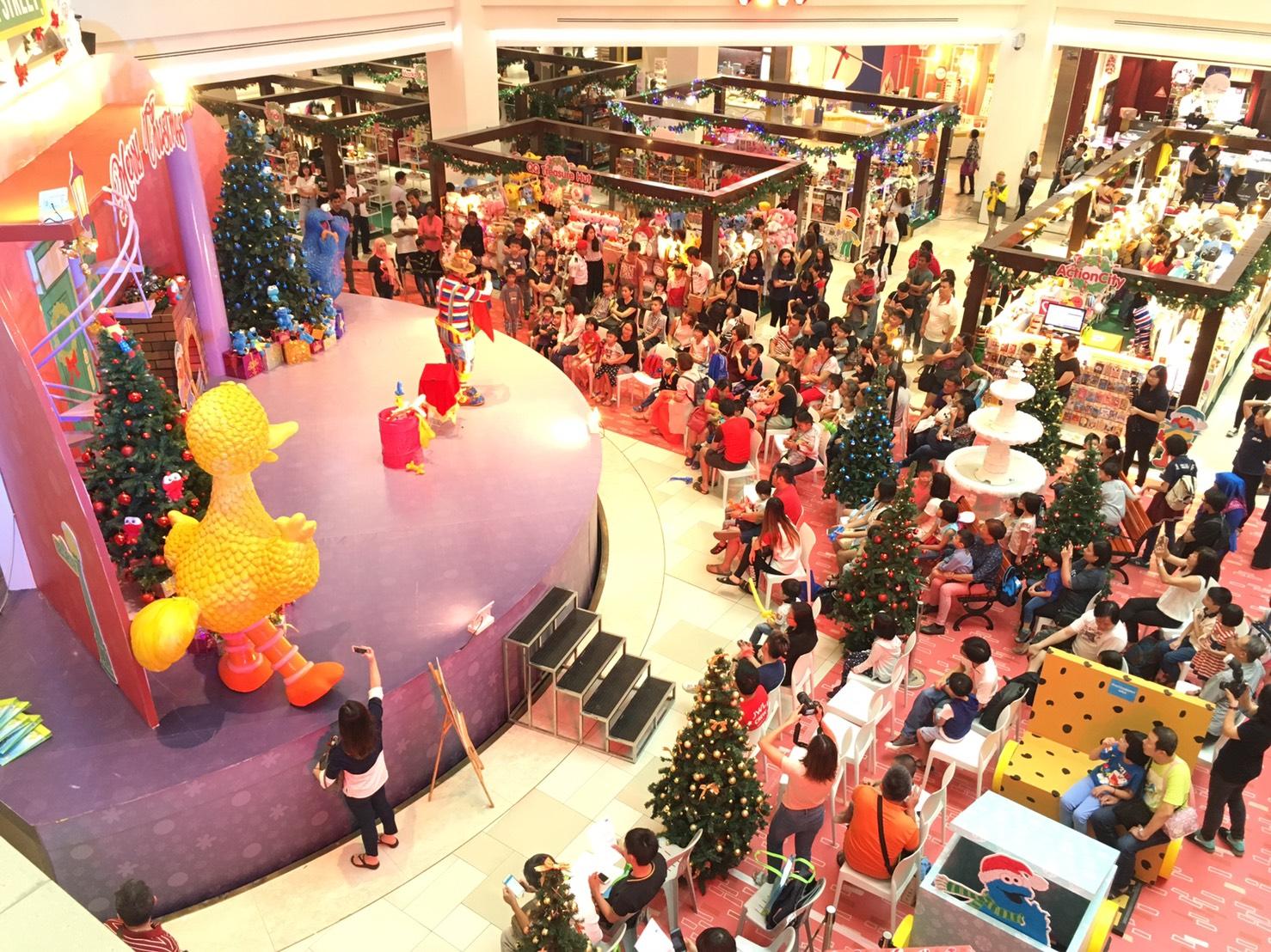 City Square Christmas day