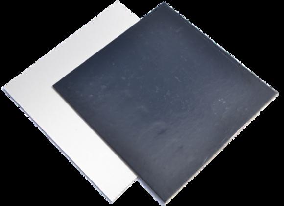 24x24 cm, juodi/balti, 10 vnt