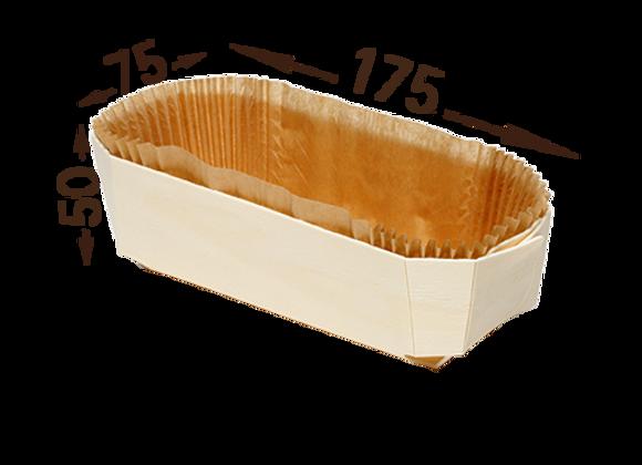 Medinė formelė, 75x175 mm, 20 vnt