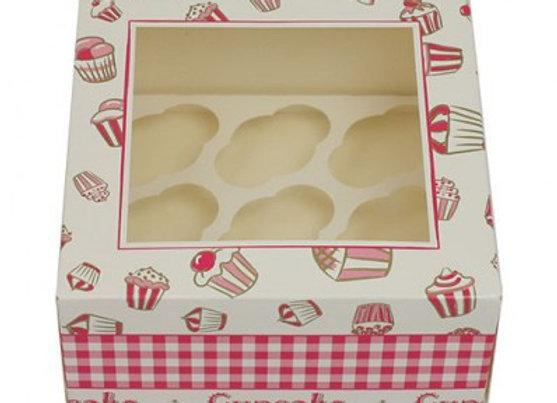 Dėžutė 9 mini keksiukams