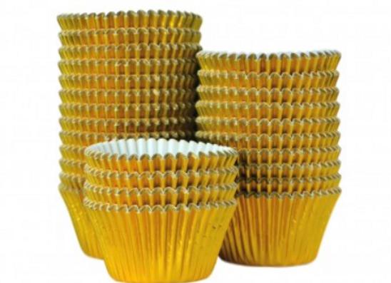 Kepimo krepšeliai keksiukams D51 mm, 375 vnt
