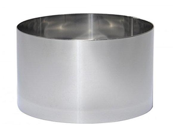Nerūdijančio plieno konditeriniai žiedai