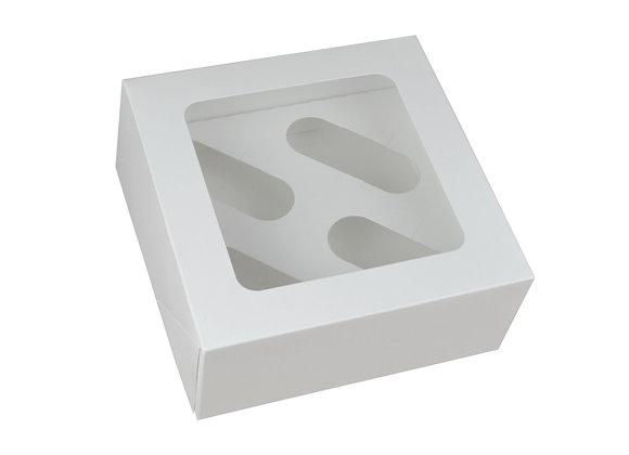 Dėžutė 4 keksiukams