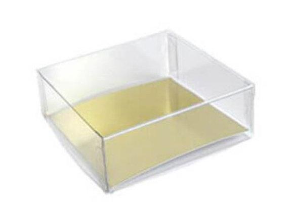 Kvadratinė dėžutė 10x10 cm, H 3,1 cm