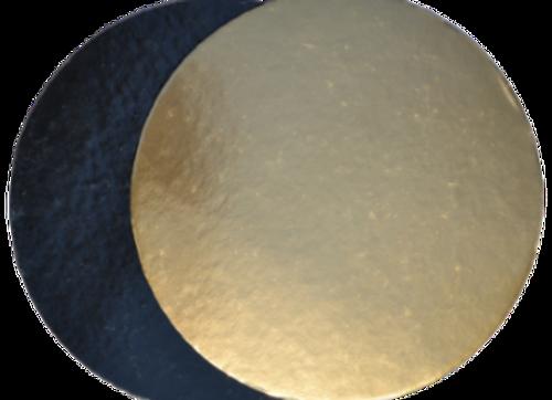 Ø20 cm, aukso/juodi, 10 vnt