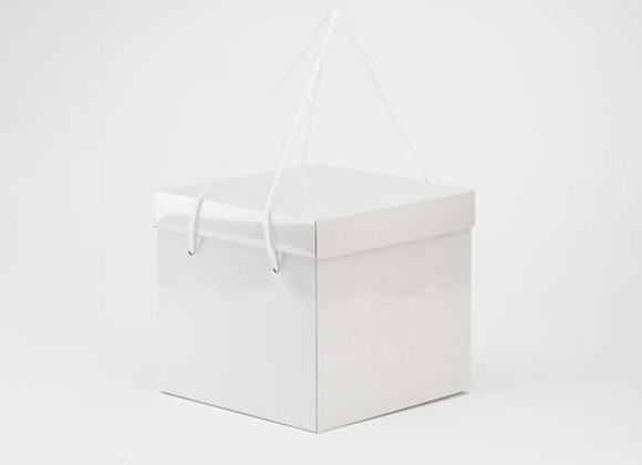 Dėžė pyragui 24x24 cm, aukštis 22 cm, 1 vnt