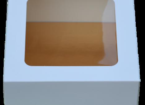 Dėžutė su padėkliuku, 17x17 cm