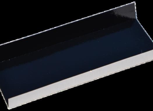 U formos balti/juodi, 4,5x13 cm