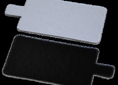 Pailgi balti/juodi, 4.5x13 cm
