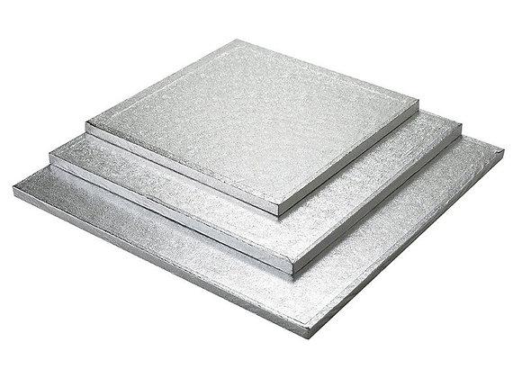 30x30 cm, storis 12mm, sidabro sp.