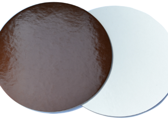 Ø24 cm, rudi/balti, 10 vnt