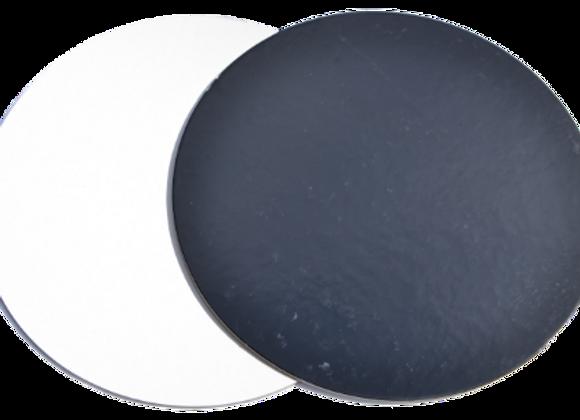 Ø22 cm, juodi/balti, 10 vnt