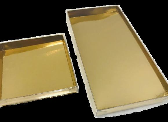 Dėžutė skaidriu dangteliu 11x11 cm, aukštis 2 cm, 5 vnt