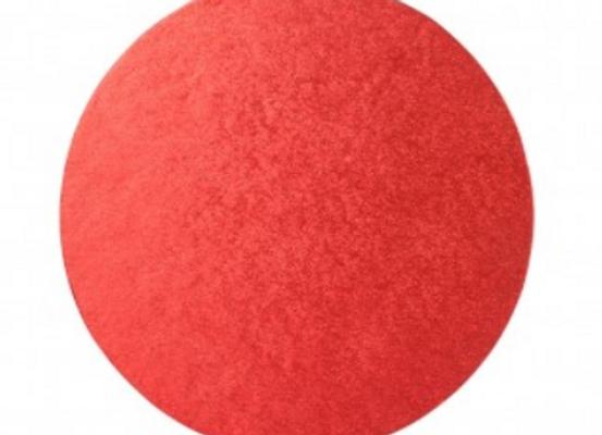 Ø25 cm, storis 12 mm, raudonos sp.