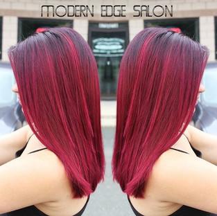 Red hair!!! #modernedgect #modernedgesalon #immodernareyou #schwarzkopf #schwarzkopfcolor #joicointensity #joico #redhair