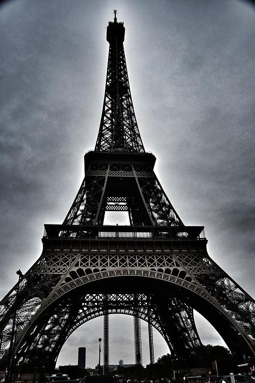 Eiffel Tour B&W