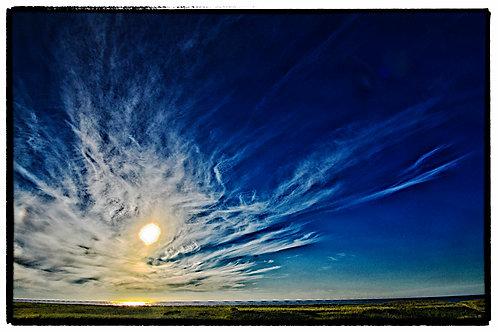 Dark Blue Skys