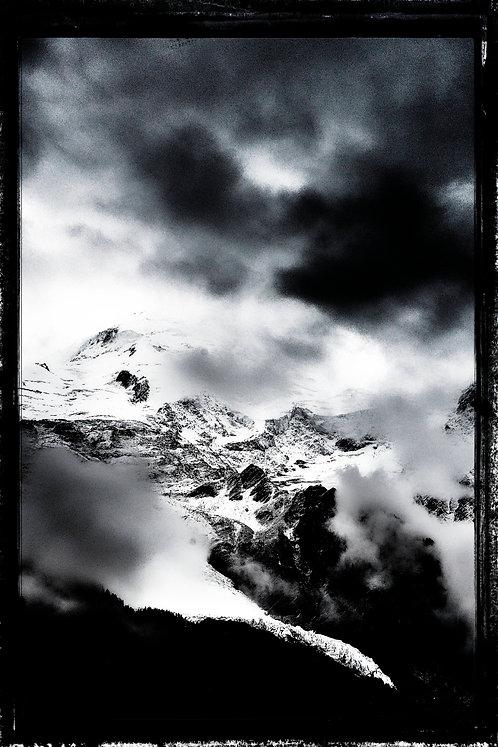 Mount Blanc B&W