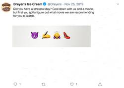 Dreyer's Twitter