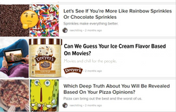 Buzzfeed mockup