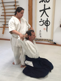 Thai-style stretches at the Dojo