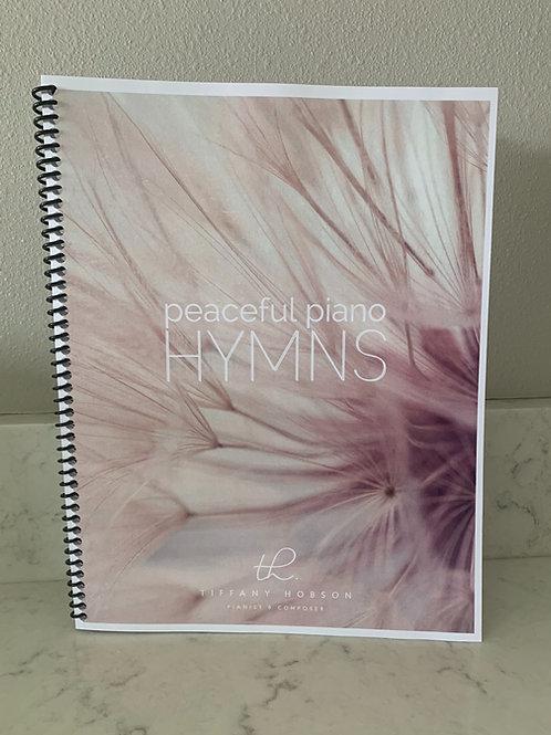 Peaceful Piano Hymns Sheet Music Book