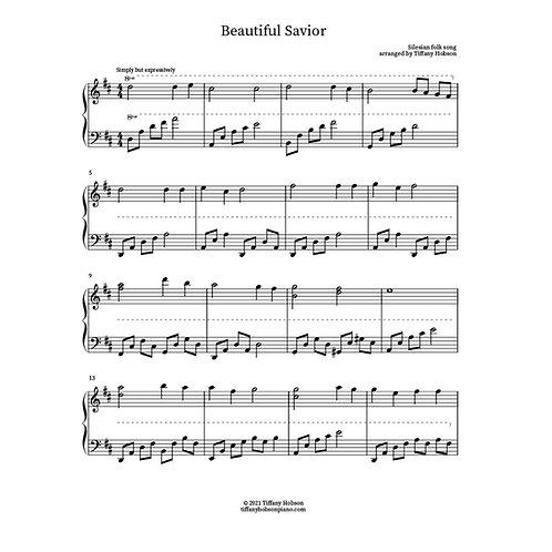 Beautiful Savior (solo piano)