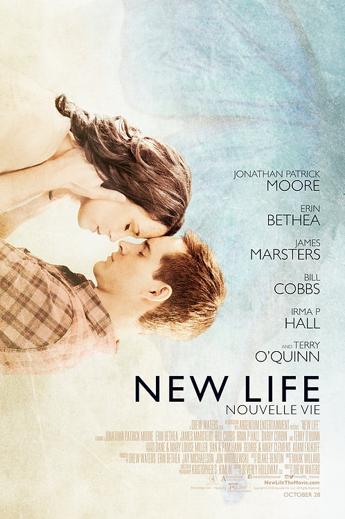 New Life *Autographed* Theatrical Poster