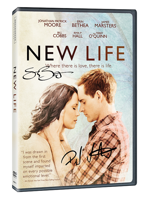 New Life *Autographed* DVD