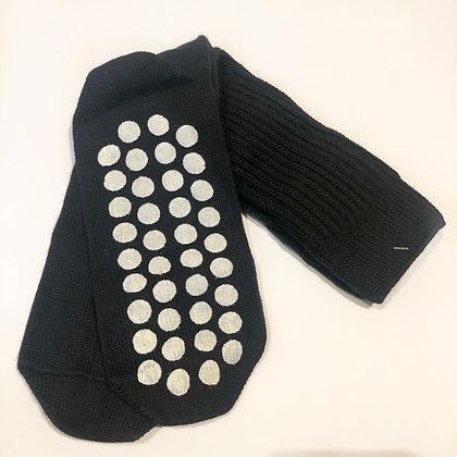 Chaussettes anti-dérapantes JOCALCOM INTERMEZZO Noir
