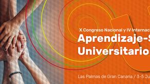 NUEVO EVENTO: X CONGRESO NACIONAL Y IV INTERNACIONAL DE APRENDIZAJE-SERVICIO UNIVERSITARIO
