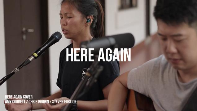 Here Again - Amy Corbett, Chris Brown, Steven Furtick - Cover