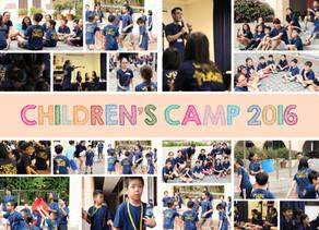 Children's Camp 2016