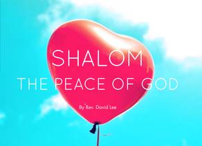 Shalom The Peace of God