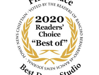 We won FIRST PLACE AGAIN!!!  Thank you everyone for voting for us - we are beyond honored!