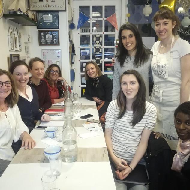 """Atelier coaching """"Clés pour réaliser ses projets"""" suivi d'un dîner networking"""