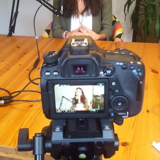 Interview et enregistrement sur le sujet du coaching et du télétravail chez GoalMap