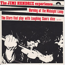 Jimi Hendrix The Burning Of The Midnight Lamp Norway