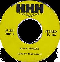 Black Sabbath - Sweet Leaf / Lord Of This World - Thailand - HHH P.105 - 197?- side 2