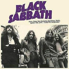 Black Sabbath - Live From The Ontario Speedway Park LP