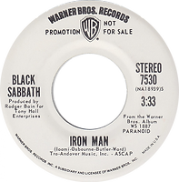 Iron Man / Iron Man -  Warner Bros 7530 - 1971 - Stereo