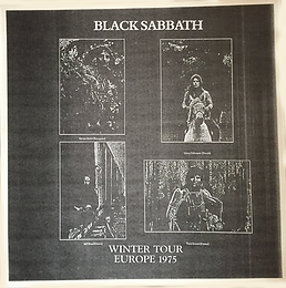 Black Sabbath - Winter Tour Europe 1975 - L - Bootleg