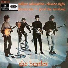 Beatles Yello Submarine EP Norway